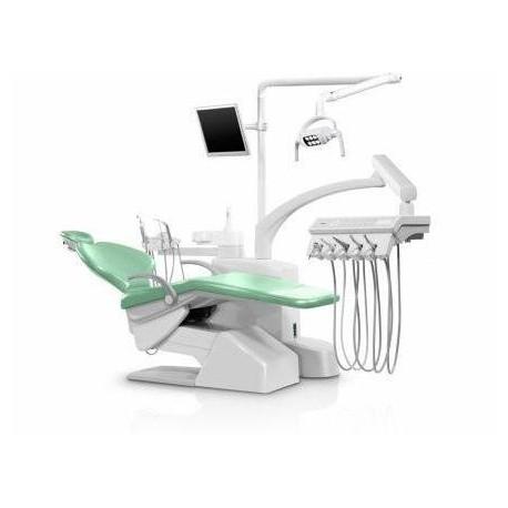 یونیت یونیت دندانپزشکی زیگر مدل S30 تابلت 4 شلنگ از بالا - Siger