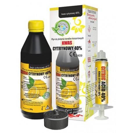 ضد عفونی کننده کانال سیتریک اسید 40 درصد سرکامد