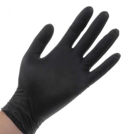 دستکش دستکش نیتریل بدون پودر کربن کرنبری Cranberry - Carbon