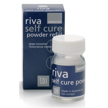گلاس آینومر ترمیمی گلاس آینومر ریوا سلف کیور SDI-Riva Self Cure
