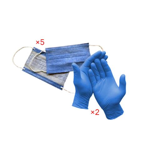 دستکش پکیج محصولات مراقبت کرونایی شماره 3